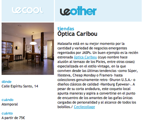 Blog_Optica_Caribou_LE COOL MAGAZINE
