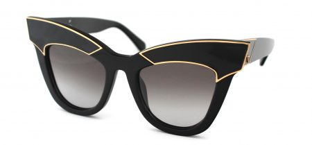 Valley - Depotism Gloss Black With Gold Trim